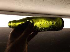 green dawson norwich 12.0z codd bottle