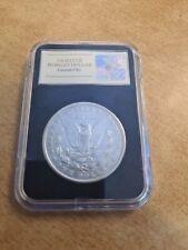 More details for morgan dollar 1890 cc usa carson city rare date 1890-cc silver coin high grade