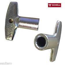Schell Polar 2 , Steckschlüssel  zu  Zapfhahn Außenzapfstelle Ersatzschlüssel