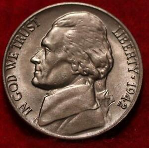 1942-D Denver Mint Jefferson Nickel