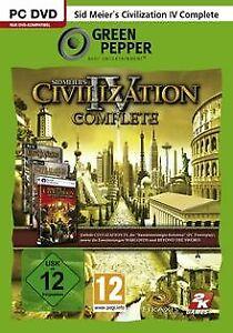 Civilization 4 - Complete [Green Pepper] von ak tronic | Game | Zustand gut