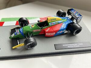 F1 Car Collection-  Benetton Ford B190 -Nelson Piquet- 1990 Superb