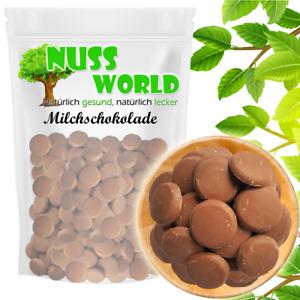 Belgische Vollmilch Schokolade für Schokobrunnen PREMIUM 1 kg
