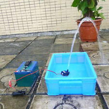 Submersible Water Pump Fish Motor Home Brushless Quiet Mini DC12V Pond 240L/H 3M