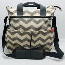 Skip Hop Messenger Diaper Bag Duo Signature Chevron
