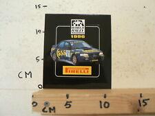 STICKER,DECAL PIRELLI 1996 WORLD RALLY CHAMPIONSHIP SUBARU 555 A