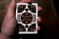 Theory11 Steampunk Bicycle Playing Card Decks! Amazing Bronze Color Tuck Box!