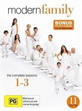 Modern Family : Season 1-3 (DVD, 2012, 11-Disc Set) FREE POST