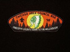 BOY SCOUT  OWASIPPE SCOUT RES  98    CHICAGO AREA COUNCIL ILL