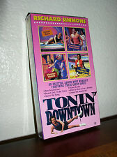 Richard Simmons Tonin' Downtown (VHS, 1996)