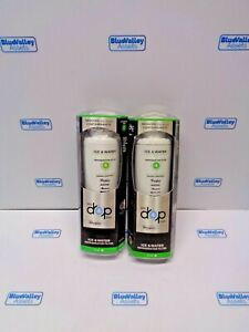WHIRLPOOL EVERYDROP 300 GAL ICE/WATER REFRIGERATOR FILTER 4, LOT OF 2