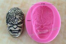 The Avengers Incredible Hulk Bento Fondant Soap Chocolate Clay Molder Mold