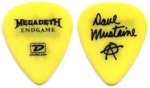 Megadeth - Dave Mustaine - 2009 - Plektrum - guitar pick