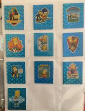 The Simpsons Bowl-A-Rama Complete Set Of 58 Tazos, Mint Condition