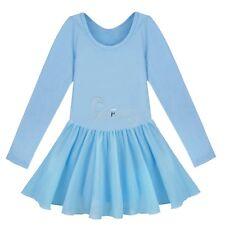 Kids Girls Toddler Ballet Dancer Dress Gymnastics Leotard Dancewear Tutu Skirt