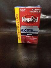 MegaRed Advanced 6x (800 MG) 80 Capsule 8/21