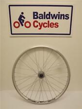 "FRONT 26"" DISC BRAKE Mountain Bike Wheel - Quick Release - SILVER DOUBLE WALL"