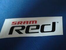 Aufkleber Radsport Sram RED 100 x 35 mm