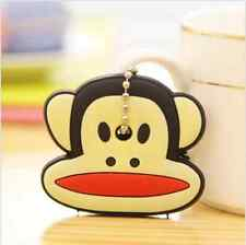 NEW Trendy Cute Soft Key Top Head Cover Chain Cap Keyring Phone Strap A02