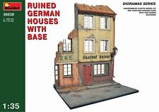 MiniArt 1/35 Ruined German Houses with Base # 36038