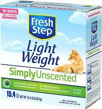 Fresh Lightweight Clumping Cat Litter, Simply Unscented