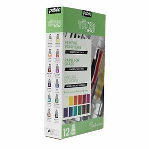 Pebeo Vitrea 160 Glass Paint Explorer Set 12 x 20ml
