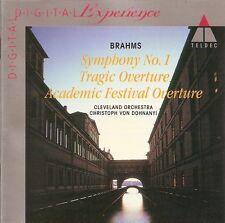 Brahms - Symphony No.1 / Cleveland Orchestra • Christoph von Dohnányi