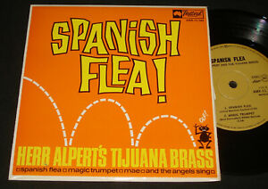 HERB ALPERT TIJUANA BRASS EP 1967 - SPANISH FLEA – 1960s pop