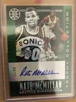 19/20 Panini Illusions Nate McMillan- Green Trophy Collection - 4/25 Supersonics