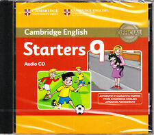 Cambridge English STARTERS 9 Official Examination Material AUDIO CD @New@