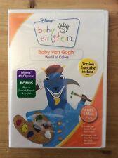 "Disney Baby Einstein - Baby Van Gogh World of Colors DVD ""New & Sealed"" *No Tax*"