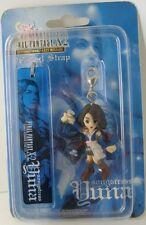 Final Fantasy X-2 Yuna Songstress Figure Phone Strap Charm Keychain X Key Ring