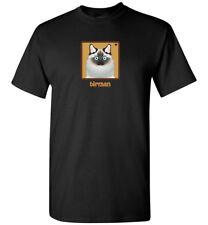 Birman Cat Cartoon T-Shirt Tee - Men Women's Youth Tank Short Long Sleeve