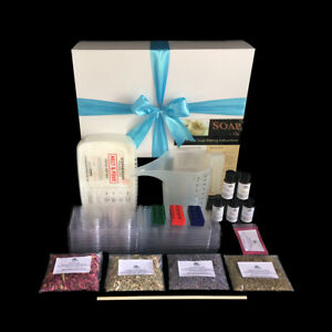 Soap Making Kit for Beginners - Makes 20+ Soaps GIFT BOXED