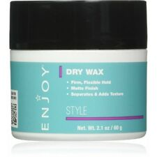 ENJOY Dry Wax (2.1 OZ) - Non-Greasy, Pliable Hair Wax