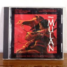 RARE Mulan OST Soundtrack Walt Disney CD Album Jerry Goldsmith 1998 playgraded