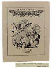 Dragon Slayers by WILLIAM STOUT ~ SIGNED Limited Edition 1979  Fantasy Portfolio