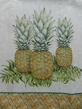 CREATIVE CONVERTING 32 Guest Towels Paper Napkins Decoupage 3 Ply Pineapples