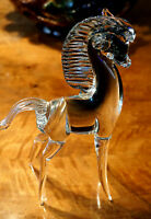 A Beautiful Vintage Archimede Seguso Murano Glass Horse