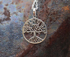 Tree Of Life Pendant Fine Sterling Silver New Jewelry Shipping Included