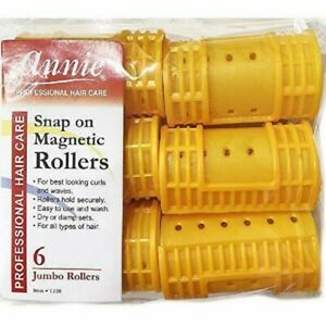 SOFT FOAM CUSHION HAIR ROLLERS,CURLERS HAIR CARE,STYLING choose black yellow