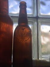 Vintage antique beer bottle; Wiedemann Brewing Co. Newport, Ky.