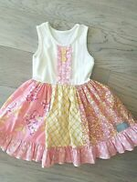 Girls Boutique Eleanor Rose - Harbor Pointe - Pansy Orchid Dress - 4/5 HTF Rare