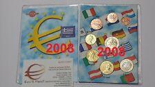2008 GRECIA 8 monete 3,88 EURO fdc greece grèce griechenland Griekenland Греция
