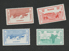 Iceland 1933 Charity Stamps unmounted mint set