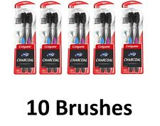 Colgate 360 Charcoal Toothbrush - Soft Bristles (10 Count)