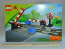 Lego Ville Duplo LEGOVILLE Train Crossing Level Track Set 3773 - New in Box