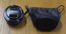 Samsung  30mm F2.0 Fixed Focal Length Pancake Lens S30NB NX - Black