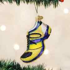 *Running Shoe* Sneaker [32200] Old World Christmas Glass Ornament- NEW