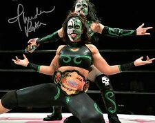 Thunder Rosa Autographed 8x10 Wrestling Photos Signed Women WWE NXT Lucha New 7